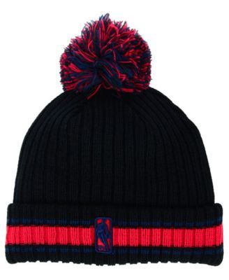 9f7e20e6 ... switzerland new era new orleans pelicans basic chunky pom knit hat  black adjustable 7413d 9bd72