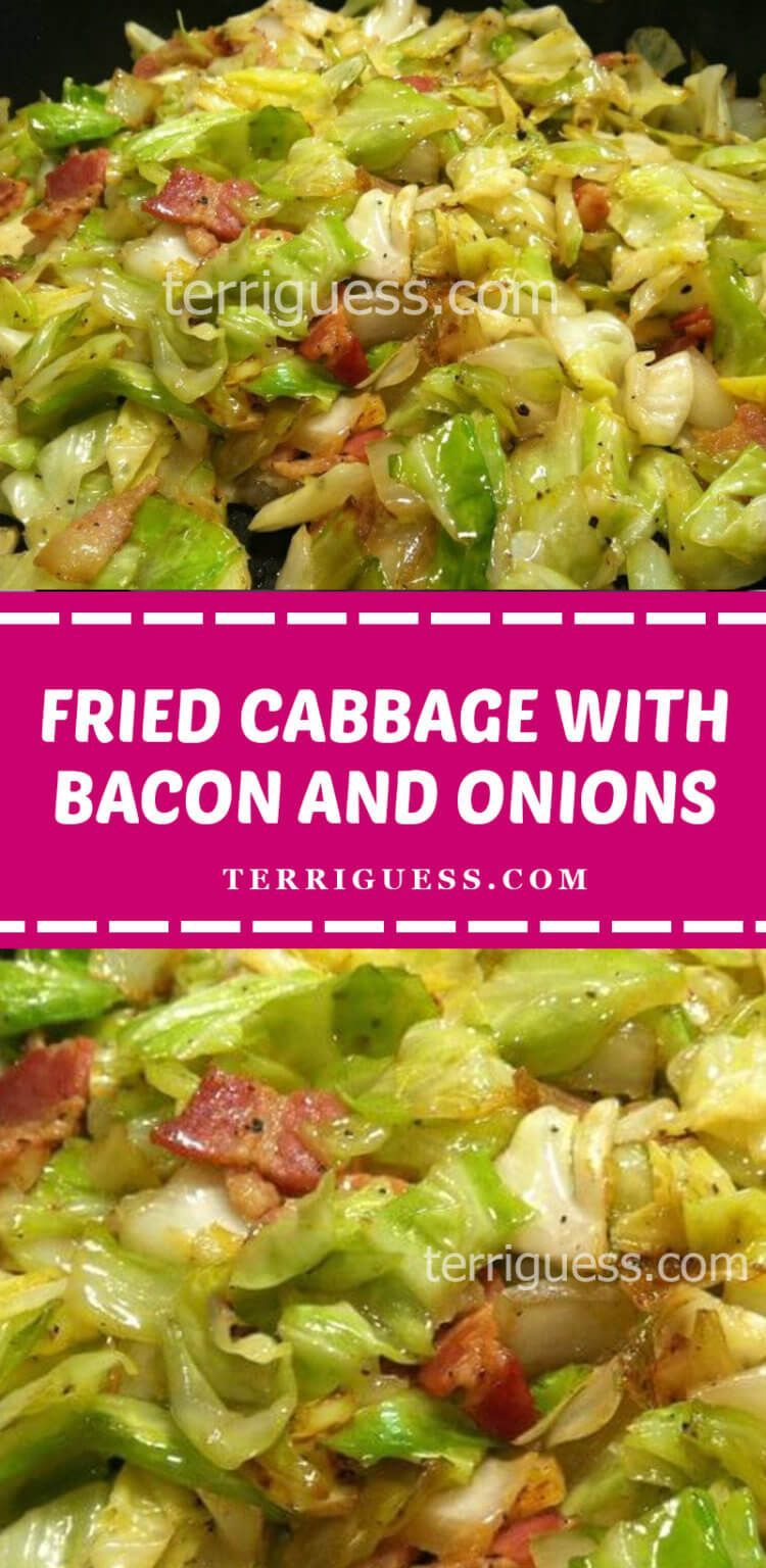 Fried Cabbage with Bacon and Onions – TERRIGUESS BLOG #friedcabbagewithbaconandonion Fried Cabbage with Bacon and Onions – TERRIGUESS BLOG