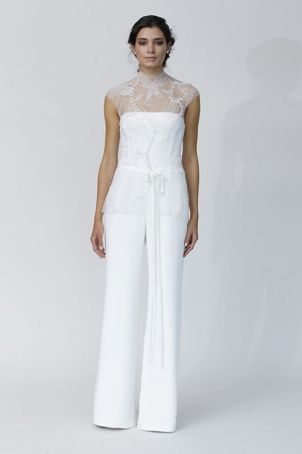17 Best images about Bridal Jumpsuits on Pinterest   White bustier ...