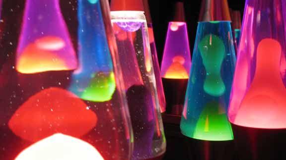 Lava lamps bubbling beautifuly!