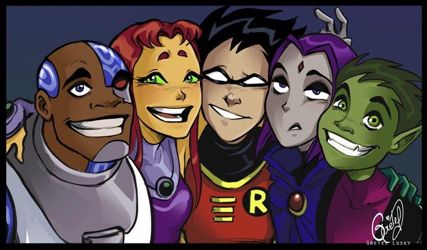 Pin On Teen Titans-9934