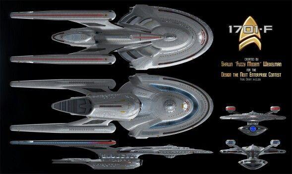 USS Enterprise NCC-1701-F | Star Trek | Star trek ...