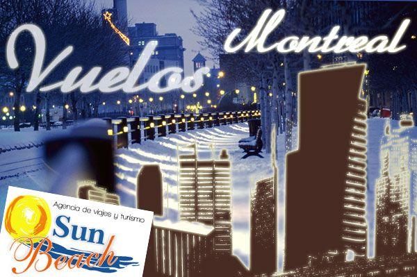Ofertas exclusivas en vuelos baratos a Montreal, Canadá desde #Cali o en www.sunbeachcali.com