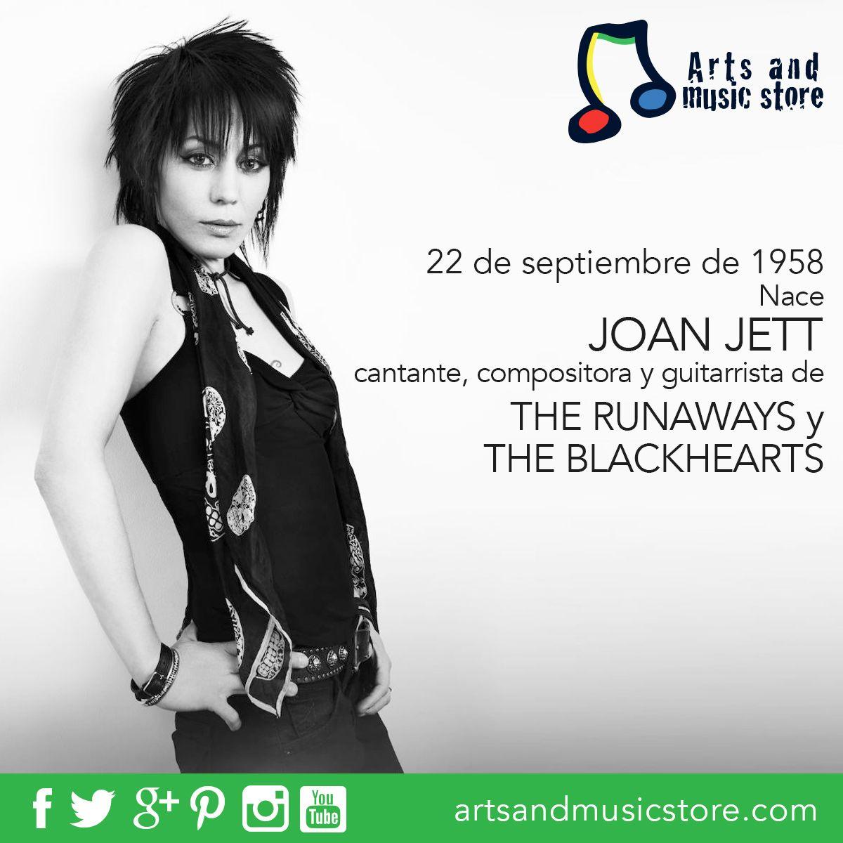 Hoy cumple 58 años la cantante y compositora, Joan Jett.