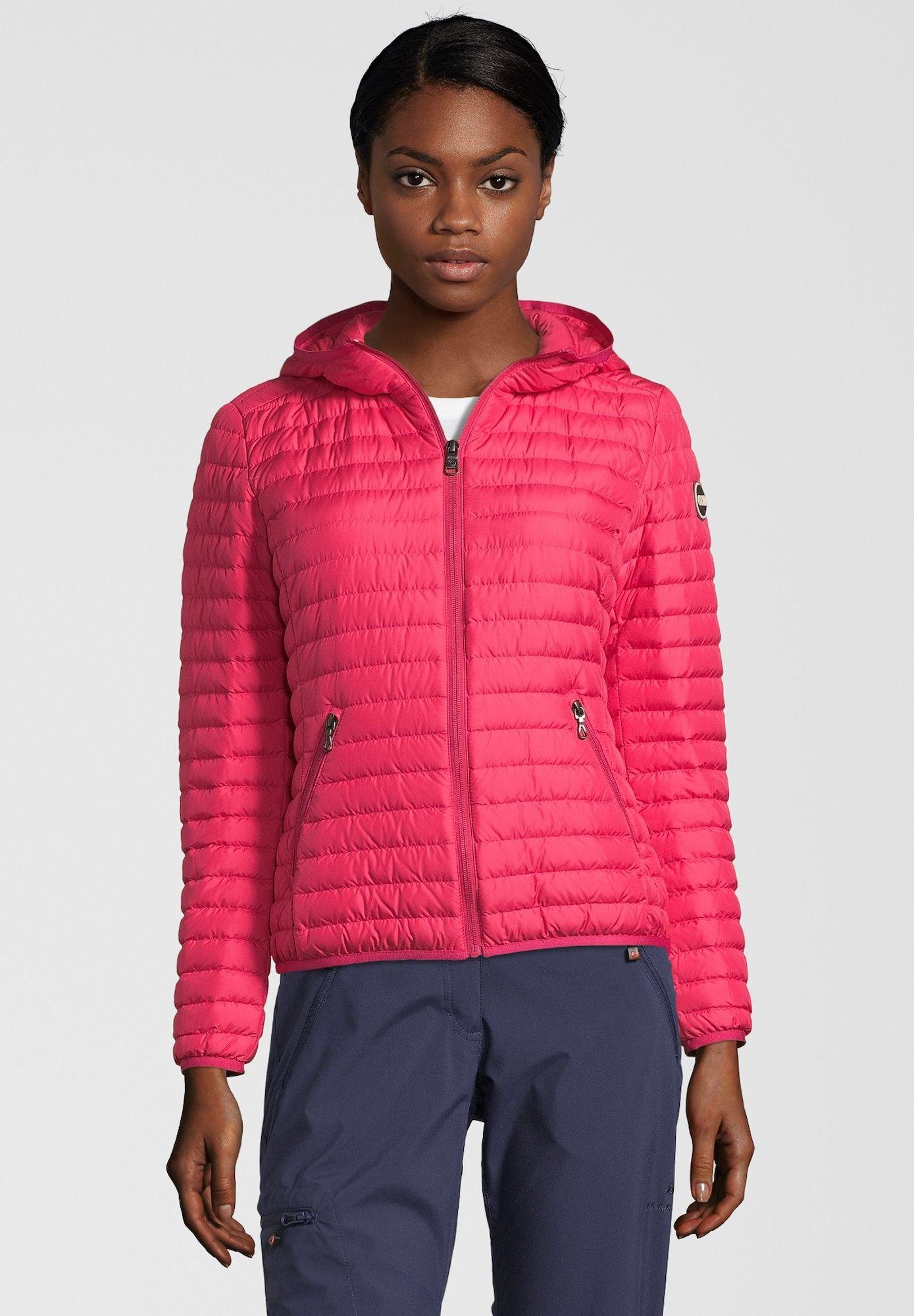 Colmar Daunenjacke 'FLOID' Damen, Pink, Größe XS | Daunen