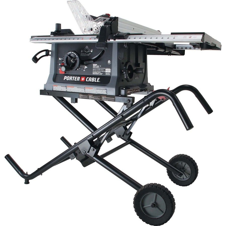 Shop Porter Cable 15 Amp 10 In Table Saw At Lowes Com Lowes Home Improvements Porter Cable Home