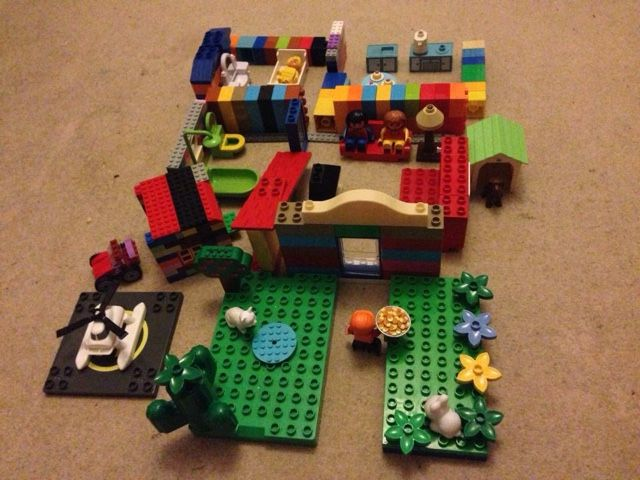 Two Under Two: Lego Dream House
