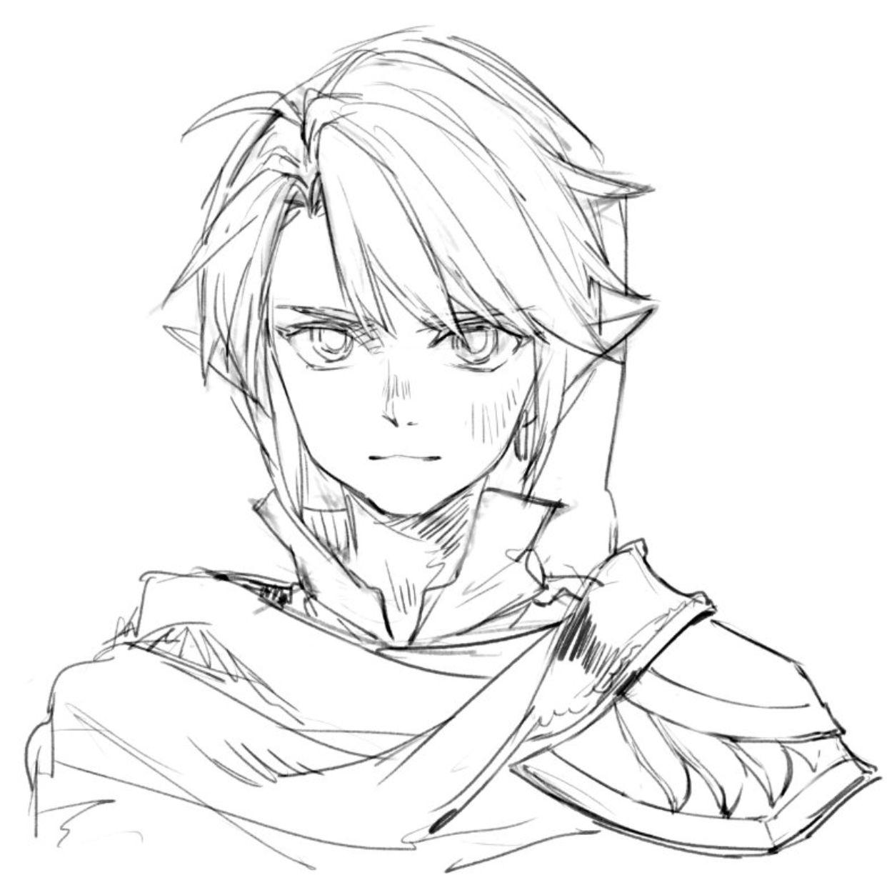 Pin By Purple Firefly On Legend Of Link Zelda Drawing Zelda Art Zelda Twilight Princess