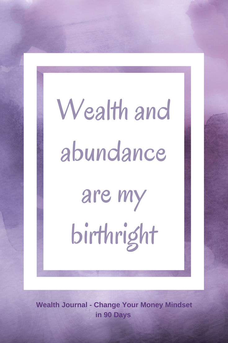 Wealth Journal: Change Your Money Mindset in 90 Days (Digital Download)