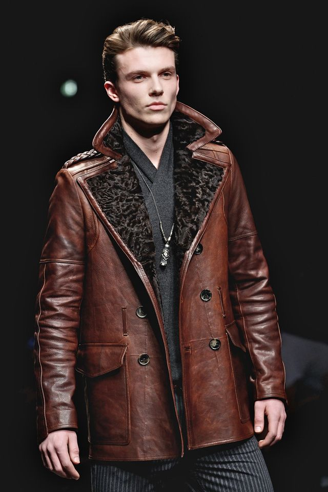 Men's Leather Coats and Jackets for Fall | Coats, Men's leather ...
