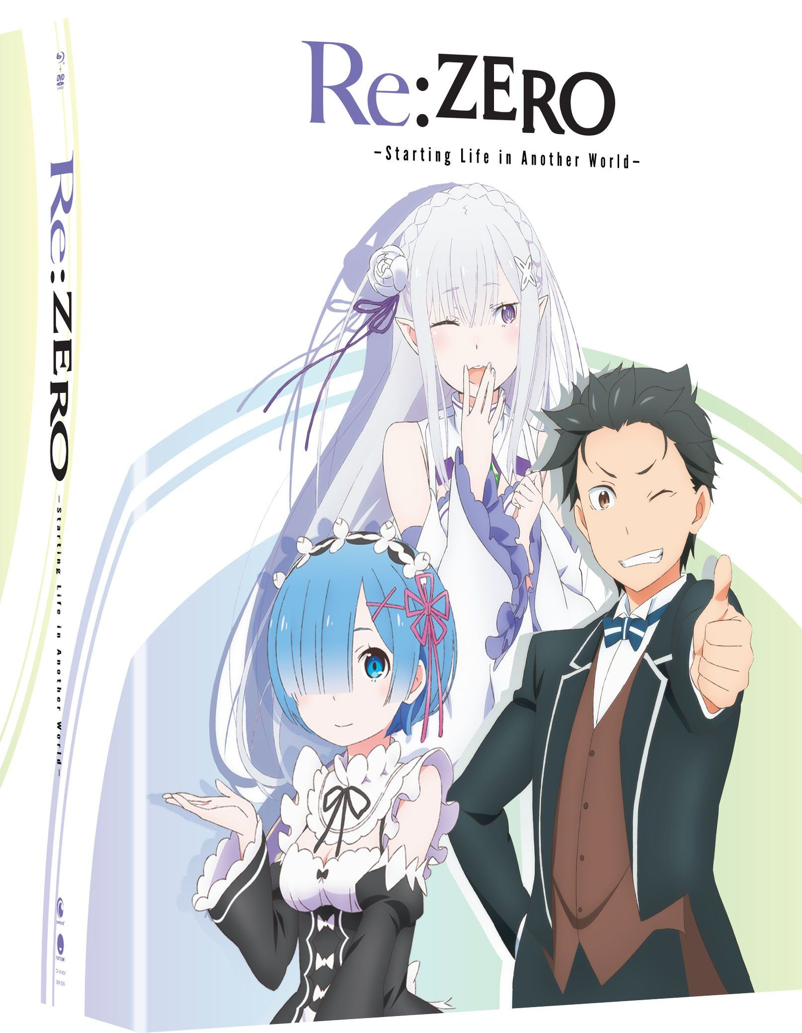 Re Zero Starting Life In Another World Ssn 1 4 Blu Ray Edizione