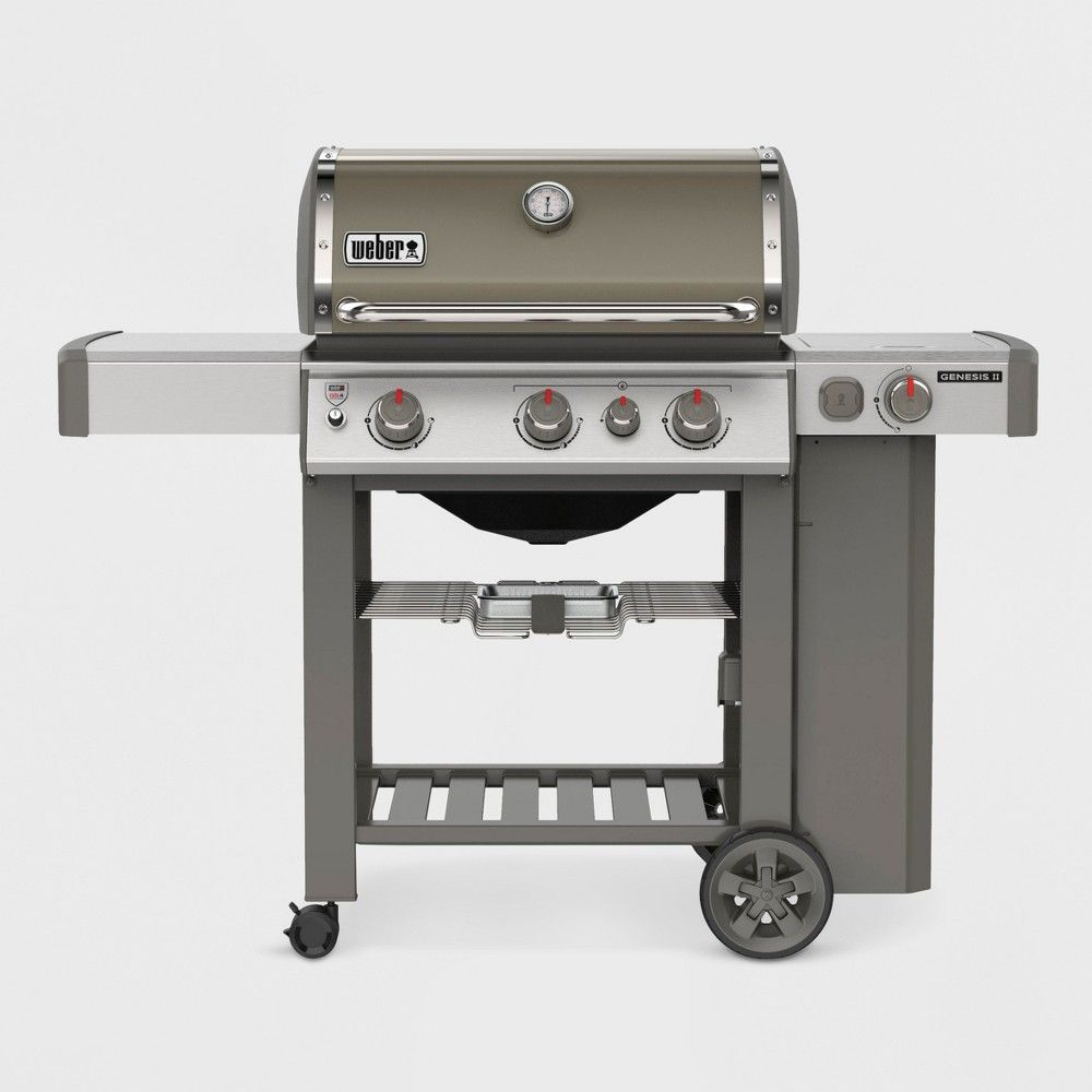 Weber Genesis Ii E 330 Lp 61052001 Smoke Propane Gas Grill Propane Grill Gas Grill