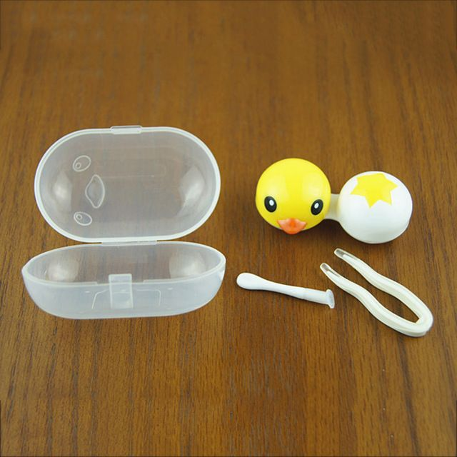 Pocket Contact Lens Case for Travel Contact Lenses Box Accessories ...