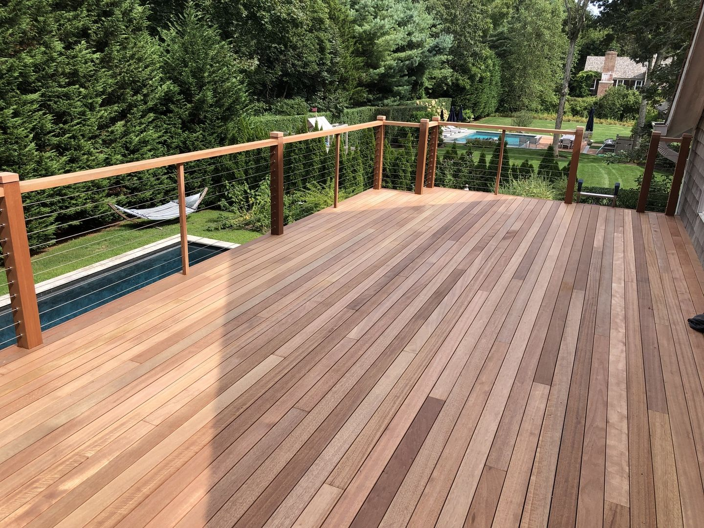 Best This Customer Used Cable Railing For Their Mahogany Deck 400 x 300