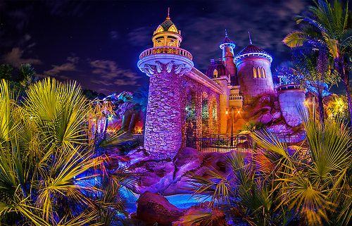 New Fantasyland - Prince Eric's Castle by Tom Bricker on Flickr.