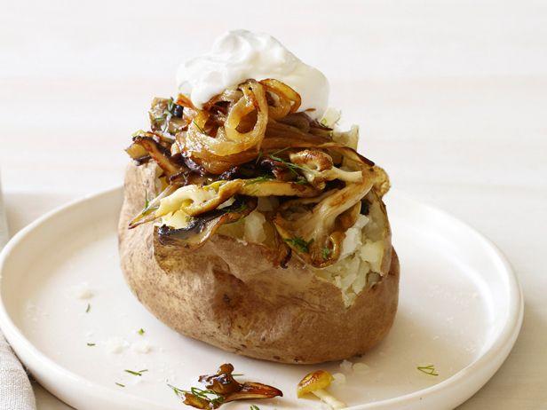 Baked Potato Bar — Meatless Monday | Food network recipes ...