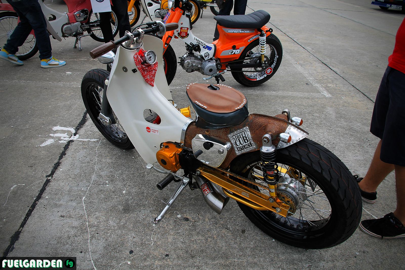 StreetCub Bitches Honda Cub C70 | CUB | Pinterest
