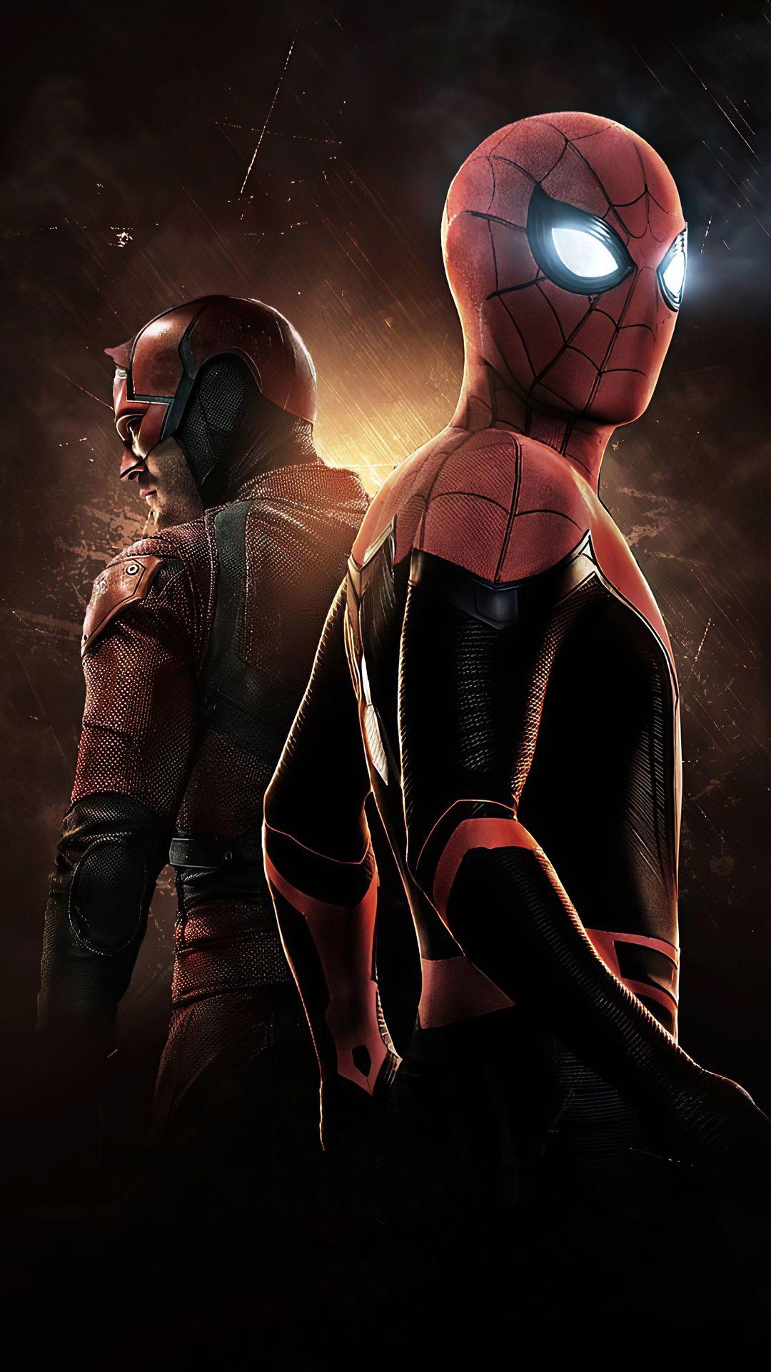 Spider Man And Daredevil 4k Wallpapers | hdqwalls.com