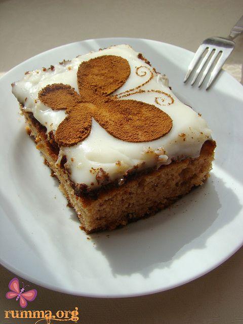 Hurmalı Kek Tarifi - rumma