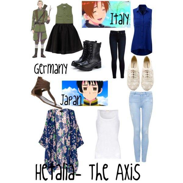 Casual Cosplay: Hetalia-The Axis   Casual cosplay, Cosplay ...