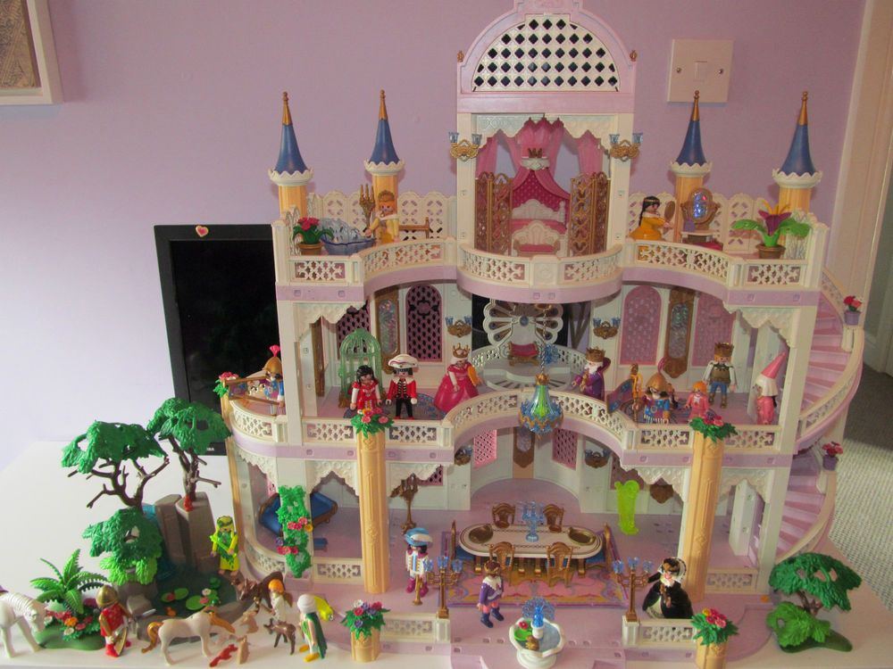 Playmobil fairy princess castle 3019 instructions for Chateau playmobil 4250