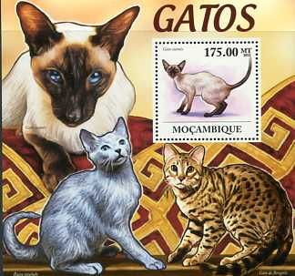 Postage Stamps - Mozambique 2011 Cats M.S. UM