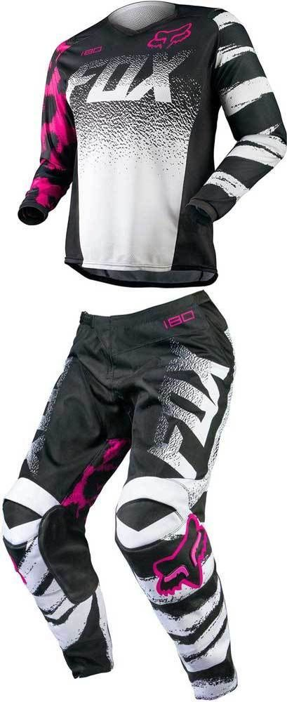 2015 Fox Racing 180 Womens Motocross Dirtbike MX ATV Jersey Pant Gear Combo