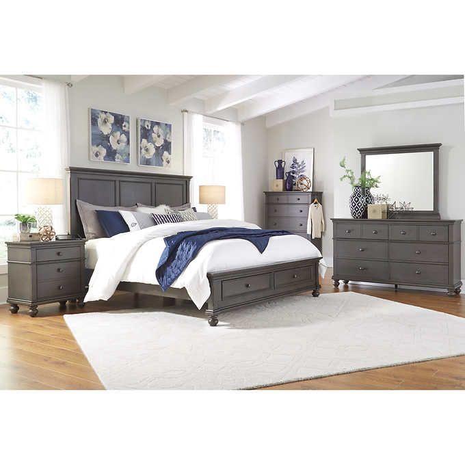 Corona 6-piece King Storage Bedroom Set | Casa de CJ ...