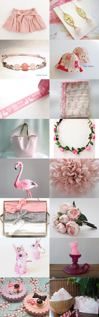 Sweet Pink by Kanae   on Etsy--Pinned with TreasuryPin.com