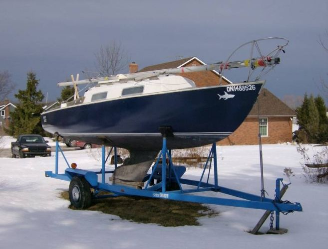 Shark 24 with Trailer | Catalina 27ft | Boat, Sailboats for