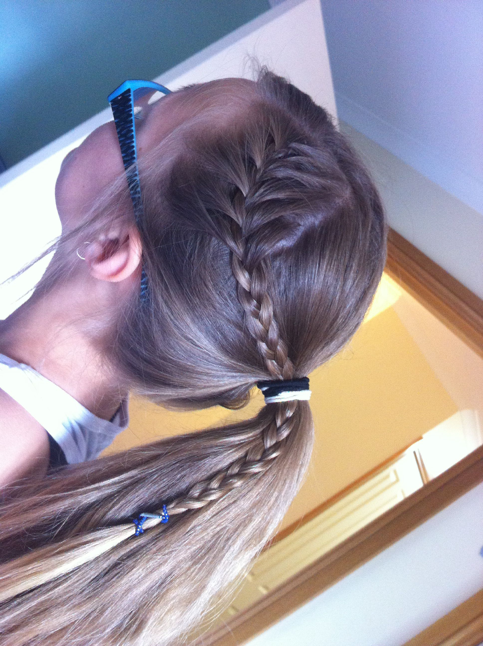 Simple but cute my hair hairstyles for little girls pinterest