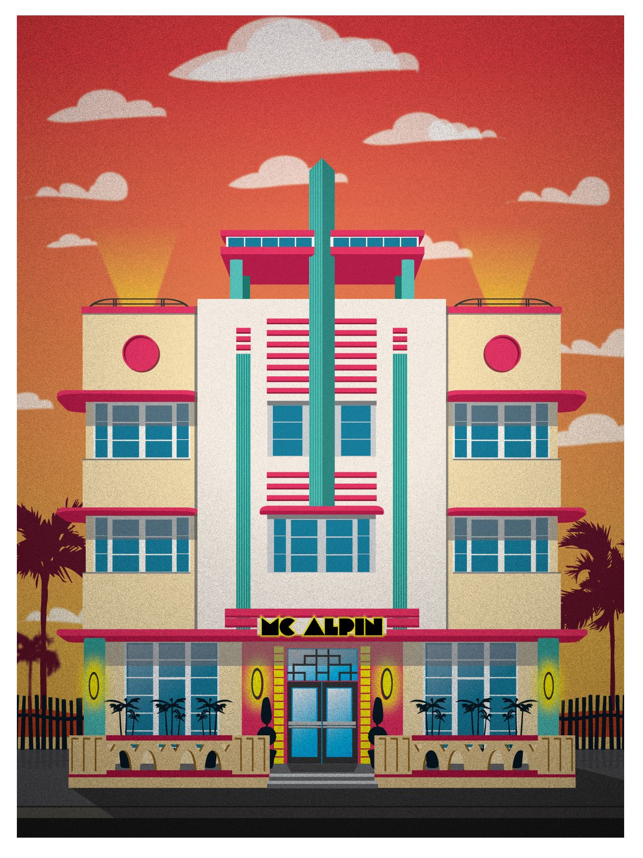 1424 ocean dr mcalpin art deco and streamline moderne - What is art deco ...