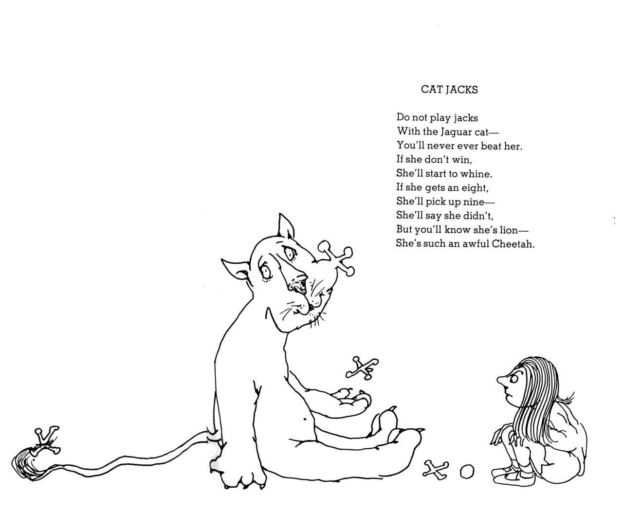 Shel Silverstein Family: Shel Silverstein-Cat Jacks