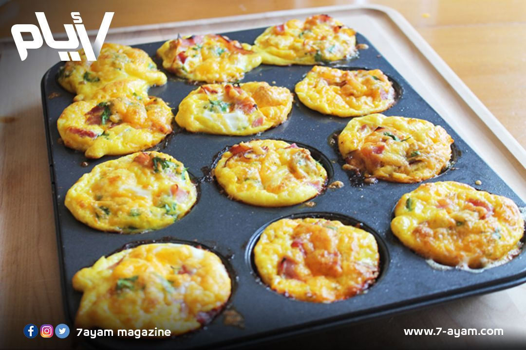 المافن الشَّهى لإفطار صحى لكِ ولأطفالك Breakfast recipes