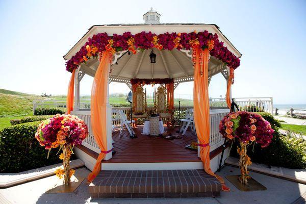 A Festive Outdoor Wedding Spot