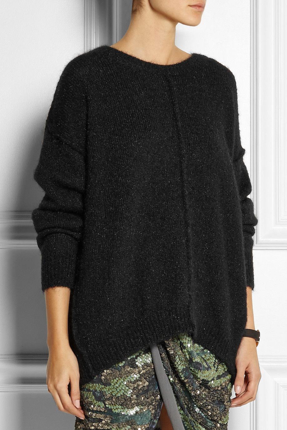 4caa578d891 Isabel Marant | Tam oversized knitted sweater | wear. | Fashion ...