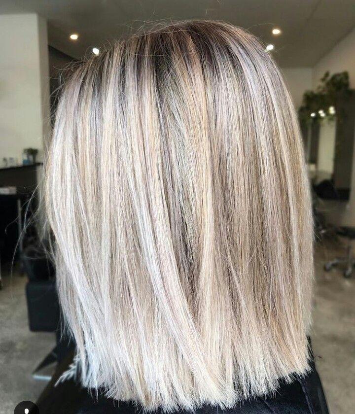 Pinterest Karengm29 Lob Hairstyle Hair Styles Medium Hair Styles