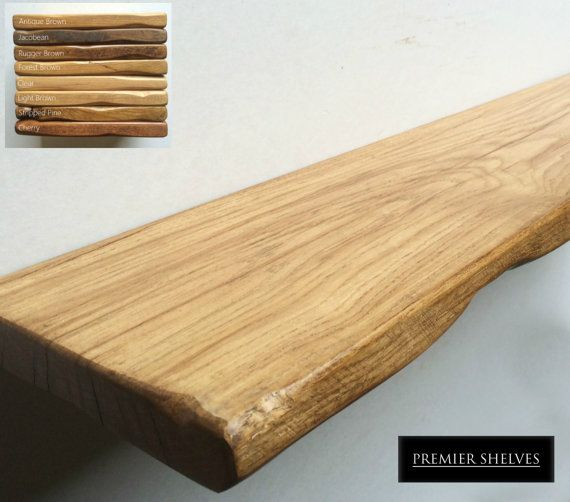Rustic Floating Shelves In Solid Oak 8 Quot 20cm Deep Up