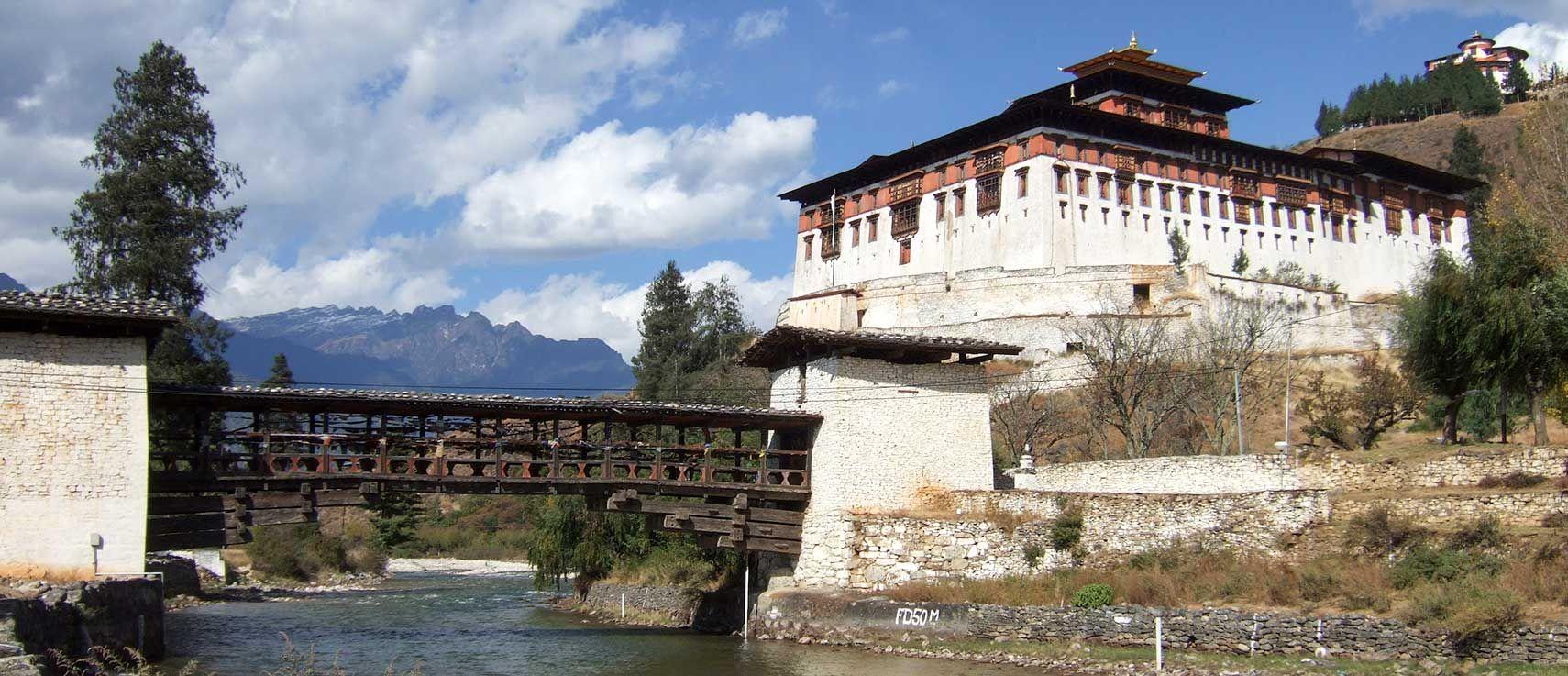 Rinpung Dzong monastery, Bhutan Bhutan travel, Bhutan