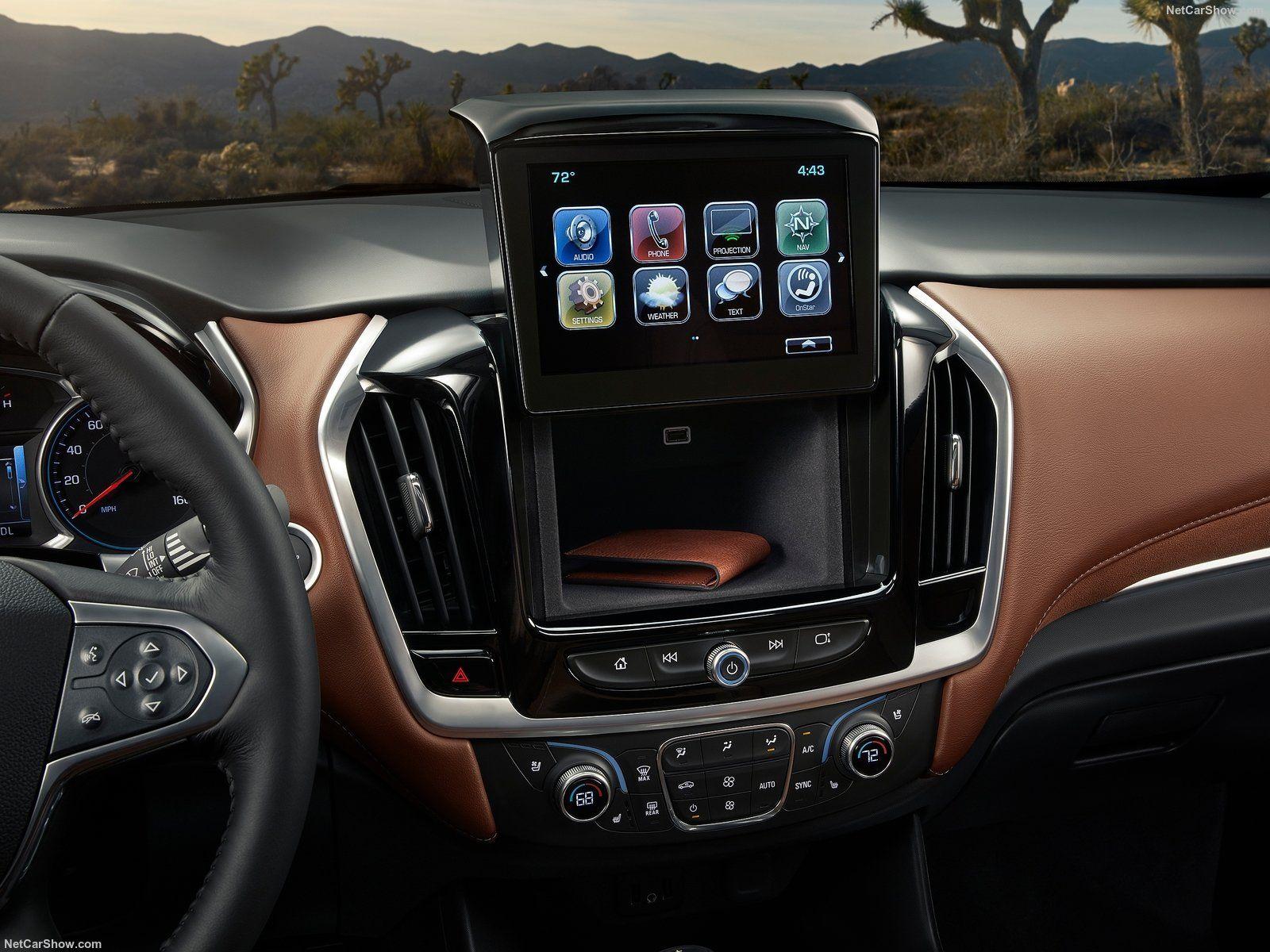 Chevrolet traverse 2017 interior detail https www netcarshow com chevrolet