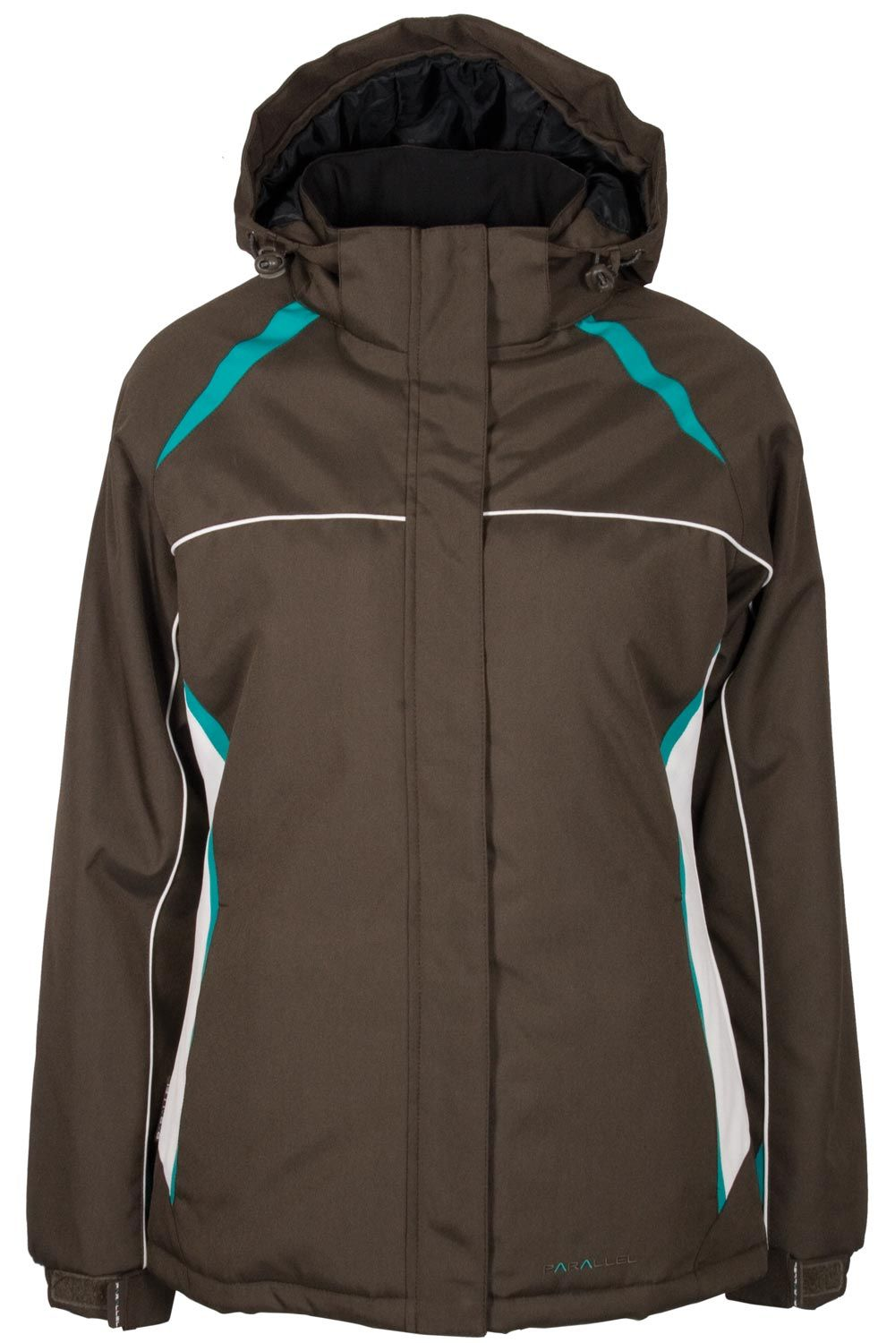 North Star Womens Ski Jacket – Brown – Snappy Expert