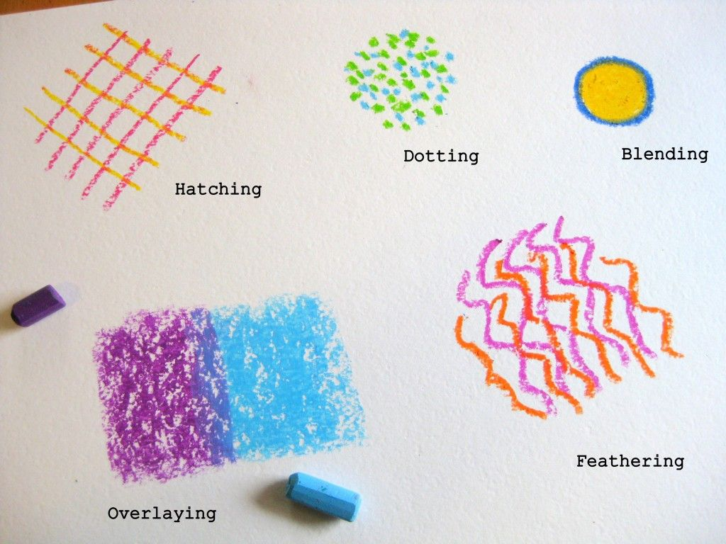 pastel techniques worksheet - Google Search | art for kids ...
