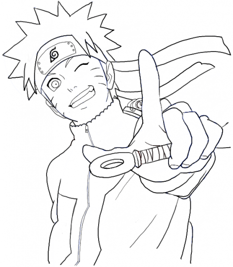 How To Draw Naruto Uzumaki Step By Step Drawing Tutorial Avec