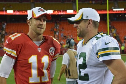 It S Time To Rehash Aaron Rodgers Vs Alex Smith With Images Green Bay Packers Aaron Rodgers Green Bay Packers Football