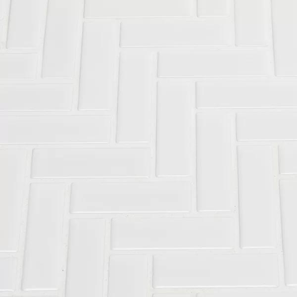 Domino 1 X 3 Porcelain Mosaic Tile In 2020 Porcelain Mosaic Tile Porcelain Mosaic Mosaic Tiles