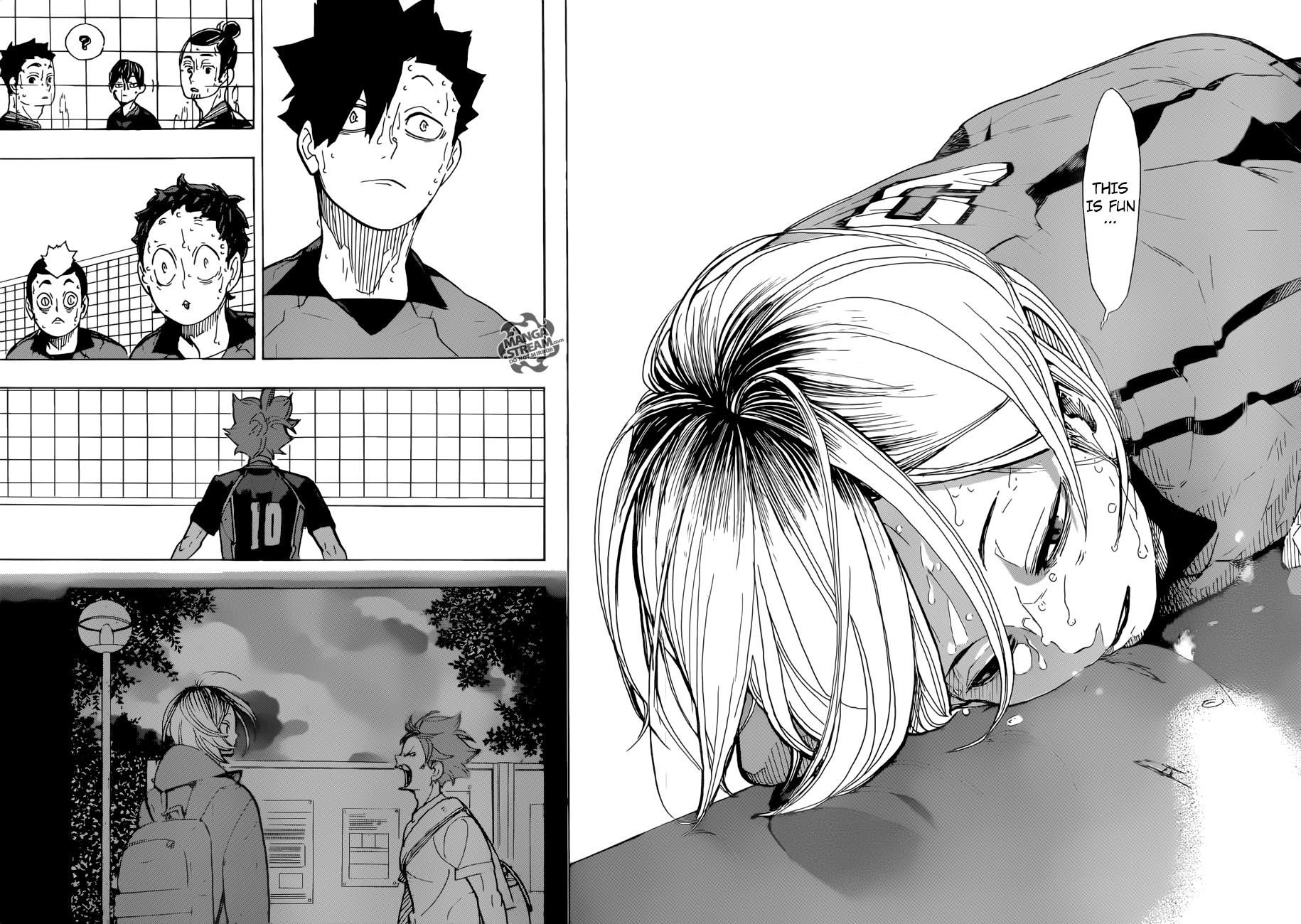 Haikyuu Chapter 322 Read Haikyuu Manga Online Haikyuu Manga Haikyuu Anime Haikyuu