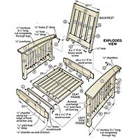 Morris Chair Woodworking Plan Always Wanted One Of These