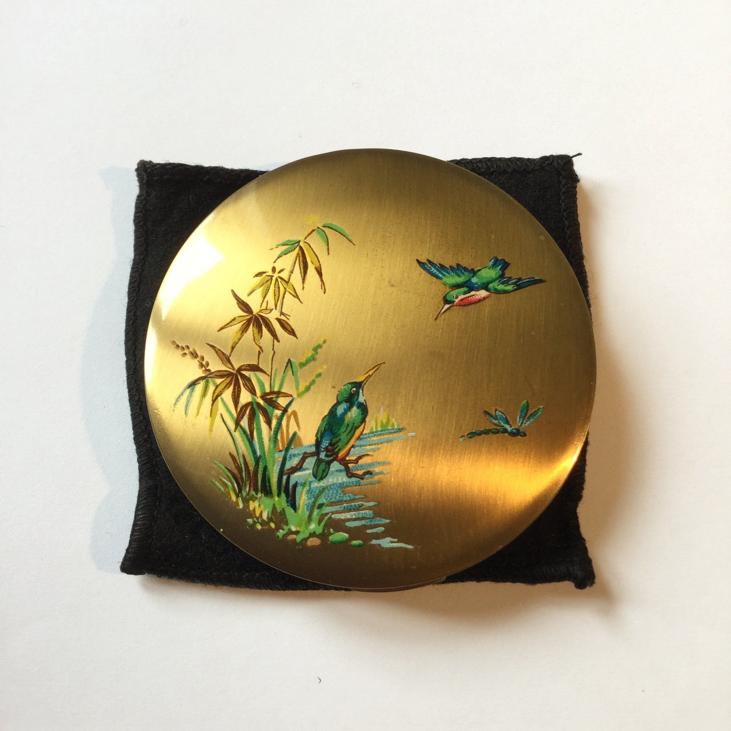 Pin On Vintage Powder Compacts
