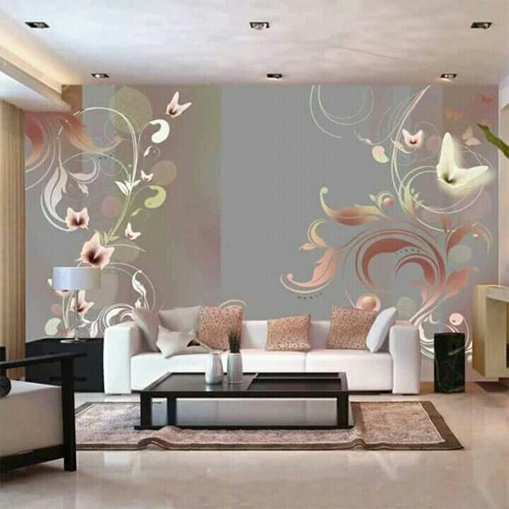 10 Top Wallpaper Decorations For Living Room