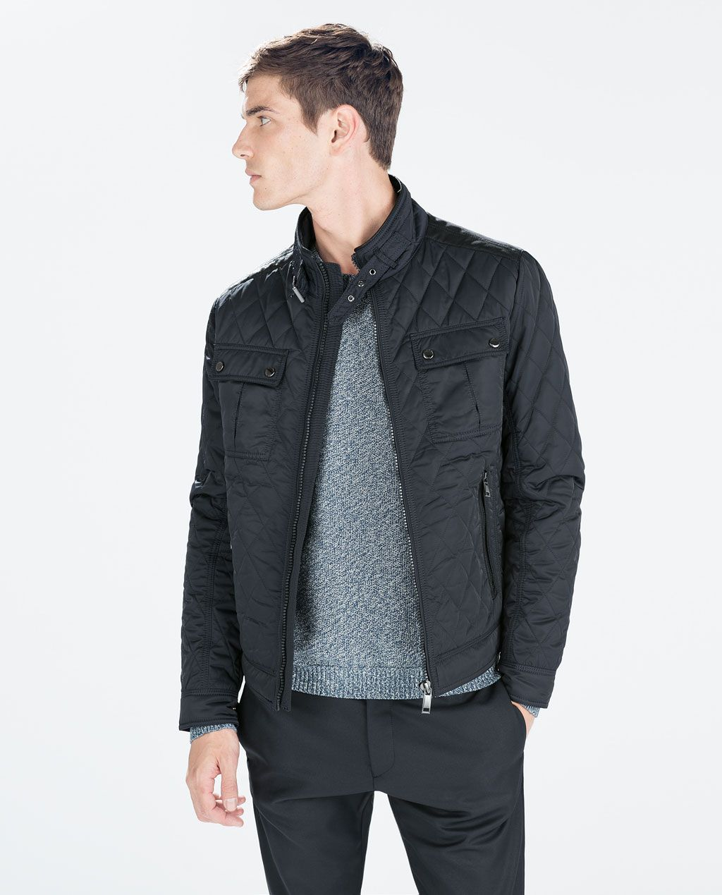 e0782a15d3 Image 2 of QUILTED JACKET from Zara 4995 | YMA | Jackets, Quilted ...